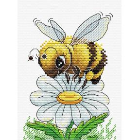 Набор для вышивки крестом МП Студия М-230 Трудолюбивая пчелка