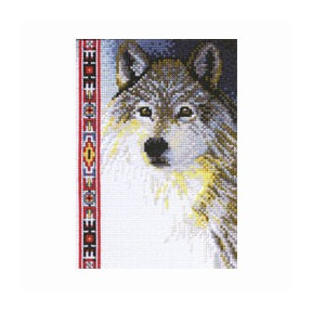 Набор для вышивания Janlynn 013-0267 Wildlife Series.Wolf