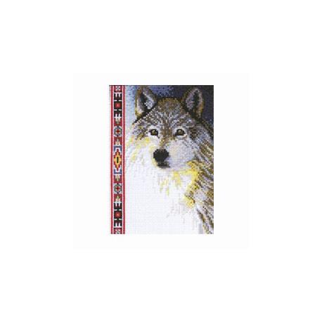 Набор для вышивания Janlynn 013-0267 Wildlife Series.Wolf фото