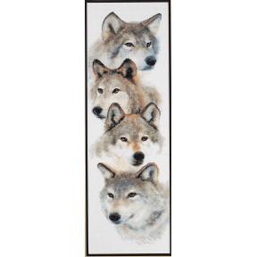 Набор для вышивания Janlynn 013-0325 The Pack