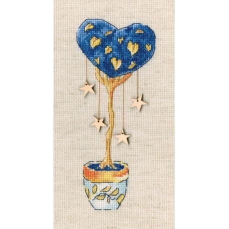 Набор для вышивки крестиком RTO CBE9011 - Топиарий-дерево