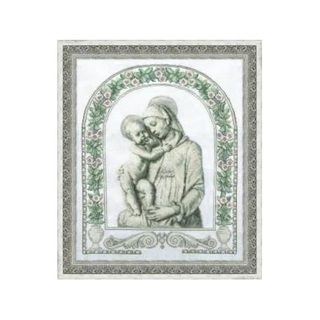Набор для вышивки крестом Чарівна Мить 405ч Мадонна фото