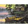 Набор для вышивания крестом Dimensions 65091 Morning Lake фото