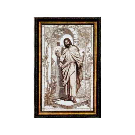 Набор для вышивки Чарівна Мить354ч Иисус,стучащий в дверь фото