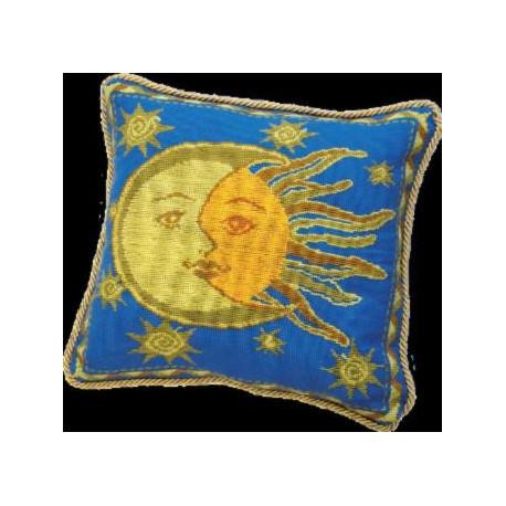 Набор для вышивки подушки Чарівна Мить 396ч День-ночь фото