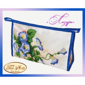 Набор для вышивания бисером косметичка Tela Artis К-009т Лазурь