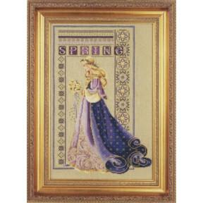 Схема для вышивания Lavender Lace LL50 Celtic Spring