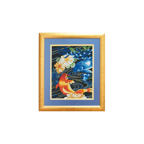 Набор для вышивки крестом Чарівна Мить 509ч Тихая заводь фото