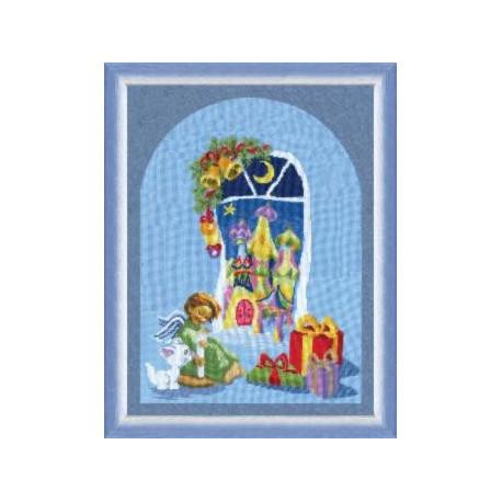 Набор для вышивки Чарівна Мить 248ч Рождественские подарки фото