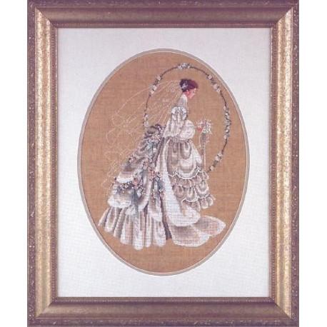 Схема для вышивания Lavender Lace LL9 The Bride фото