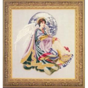 Схема для вышивания Lavender Lace LL51 World peace angel