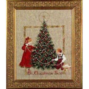 Схема для вышивания Lavender Lace LL24 Oh Christmas Tree!