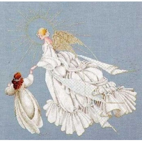 Схема для вышивания Lavender Lace LL28 Angel of Mercy