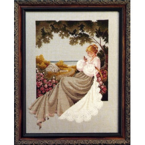 Схема для вышивания Lavender Lace LL20 Nantucket Rose