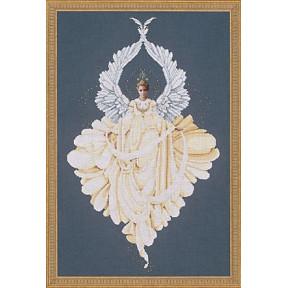 Схема для вышивания Lavender Lace LL43  Peace Angel