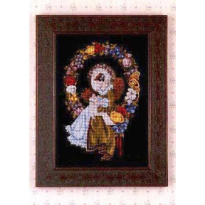 Схема для вышивания Lavender Lace LL3 Lady of the Thread