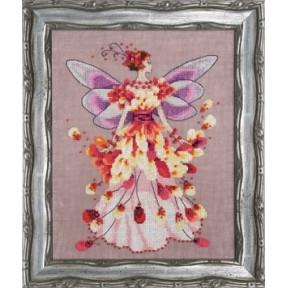 """Схема для вышивания """"Faerie Spring Fling//Пружинящий"""" Nora Corbett NC201"""