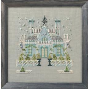 """Схема для вышивания """"The Gothic House//Готический дом"""" Nora Corbett NC279"""