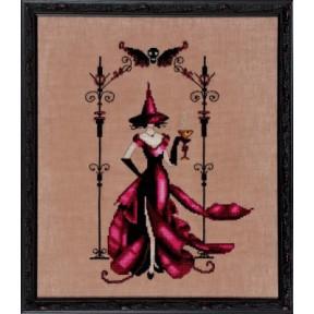 """Схема для вышивания """"Zenia//Зения"""" Nora Corbett NC223"""