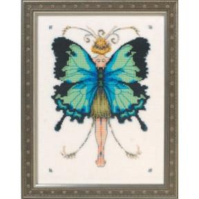 """Схема для вышивания """"Miss Goss Swallowtail//Махаон"""" Nora Corbett NC241"""