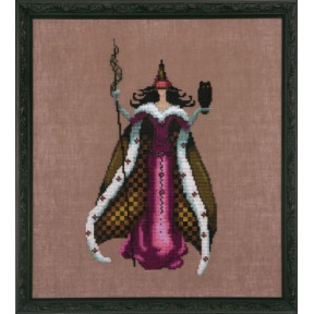 """Схема для вышивания """"Mari//Мари"""" Nora Corbett NC210"""