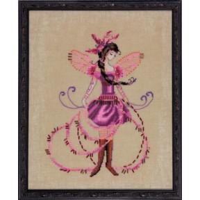 """Схема для вышивания """"The Blossom Collector//Цветочный коллекционер"""" Nora Corbett NC217"""