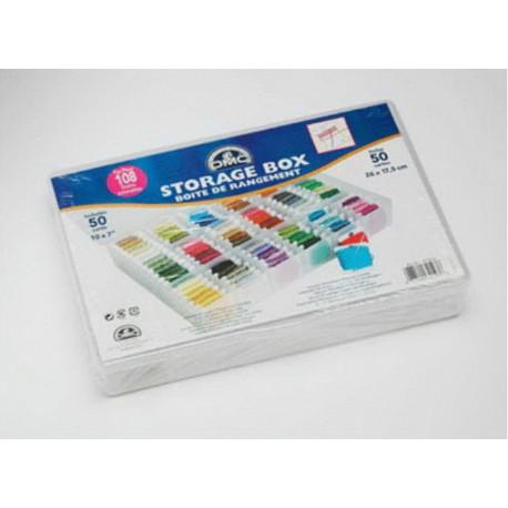 Коробка-органайзер для бобин + 50 бобин 6118/6 DMC фото