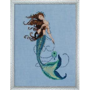 Схема для вышивания Mirabilia Designs MD151 Renaissance Mermaid