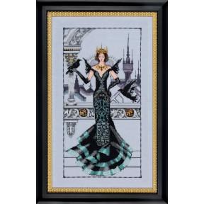 Схема для вышивания Mirabilia Designs MD139 The Raven Queen