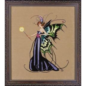 Схема для вышивания Mirabilia Designs MD122 August Peridot Fairy