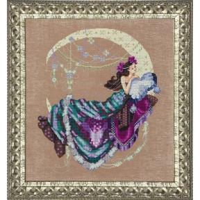 Схема для вышивания Mirabilia Designs MD137 Moon Flowers