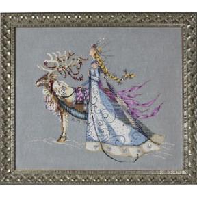 Схема для вышивания Mirabilia Designs MD143 The Snow Queen