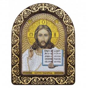 """Набор для вышивки икон в рамке-киоте Новая Слобода СН-5001 """"Христос Спаситель"""""""