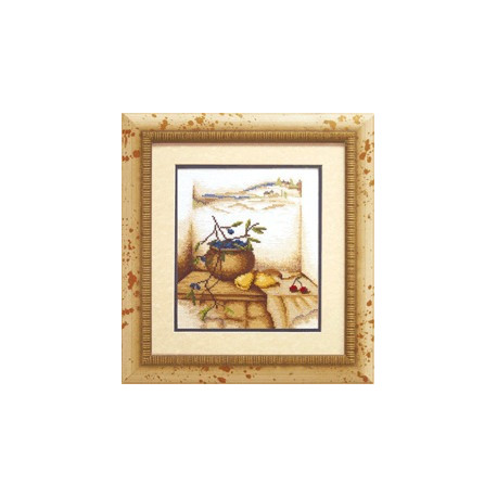 Набор для вышивки крестом Чарівна Мить 490ч Греческий натюрморт