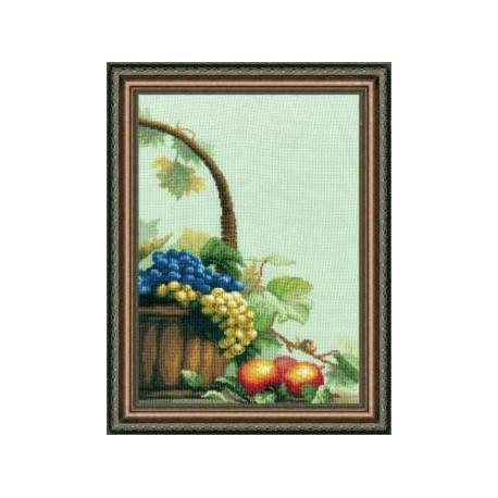 Набор для вышивки крестом Чарівна Мить 301ч Спелые фрукты фото