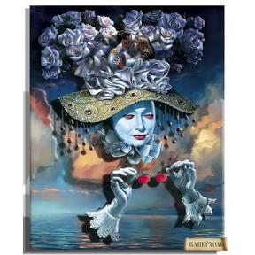 """Картина из бумаги Папертоль РТ150173 """"Зазеркалье. Любовь"""""""