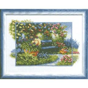 Набор для вышивки крестом Чарівна Мить А-097 В летнем саду