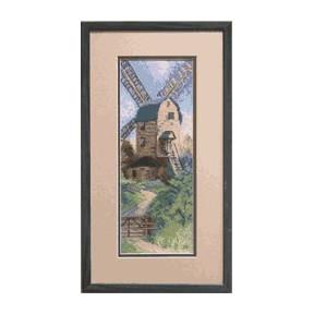 Набор для вышивки крестом Чарівна Мить А-096 Ветряная мельница