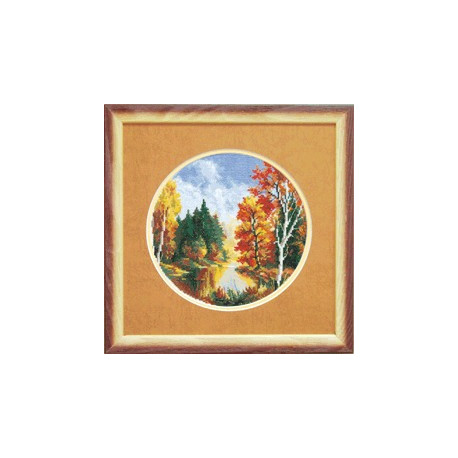 Набор для вышивки крестом Чарівна Мить А-067 Осень фото