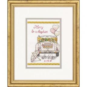 Набор для вышивания крестом Dimensions 70-65185 Wedding Day фото