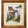 Набор для вышивки крестом Чарівна Мить 483ч Солнечный домик фото