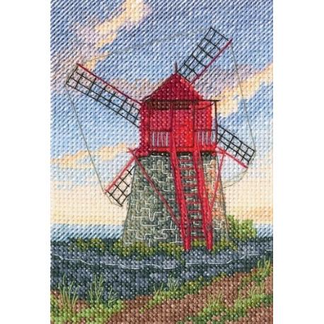 Набор для вышивки крестом RTO C278 Мельницы фото