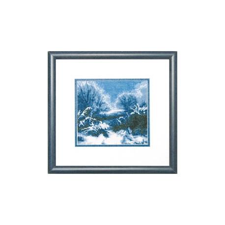 Набор для вышивки крестом Чарівна Мить 450ч Зима фото