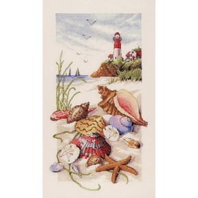Набор для вышивания крестом Classic Design Морские сокровища 4455