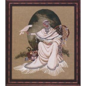 Схема для вышивания Lavender Lace BR10 Spiritdancer
