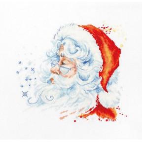 Набор для вышивки крестом Luca-S B1137 Дед Мороз