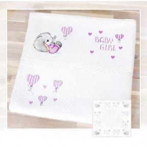 Набор для вышивки Luca-S BO100 Детское одеяло фото
