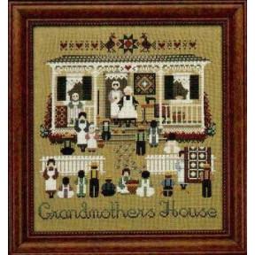 Схема для вышивания Lavender Lace TG43 Grandmothers House