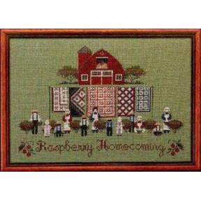 Схема для вышивания Lavender Lace TG42 Raspberry Homecoming