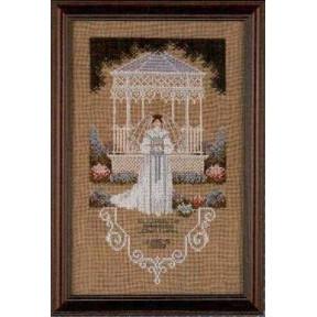 Схема для вышивания Lavender Lace TG31 Victorian Bride